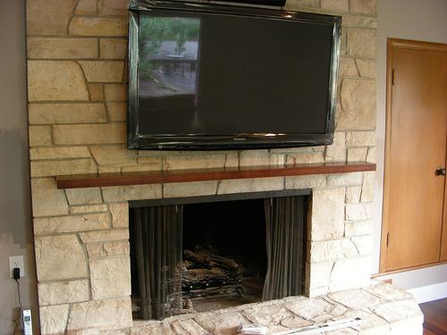 floating fireplace mantel shelf images